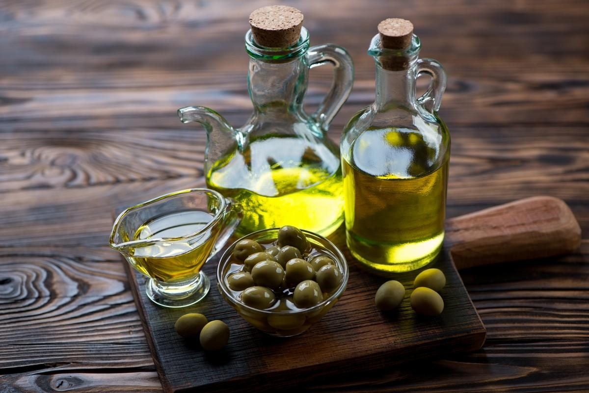 huile olive et foie