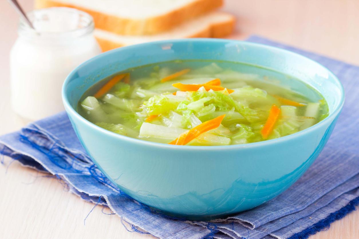 minceur une recette de soupe au chou br le graisse medisite. Black Bedroom Furniture Sets. Home Design Ideas