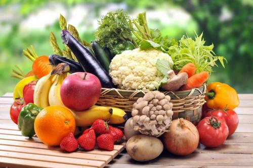 Mangez des fruits, des légumes et des céréales