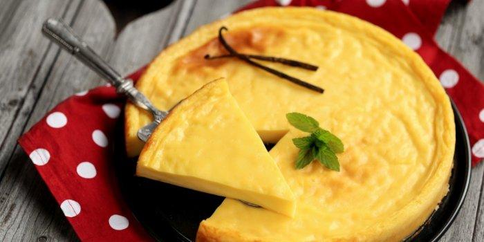 Flan pâtissier sans pâte (et sans sucre)
