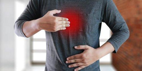Estomac dur : un signe d'ulcère
