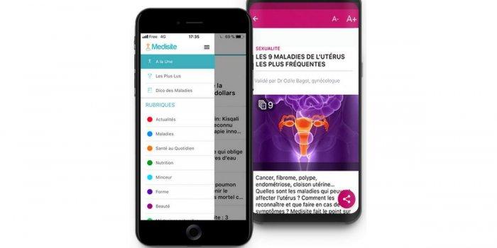 Medisite lance sa nouvelle application santé gratuite