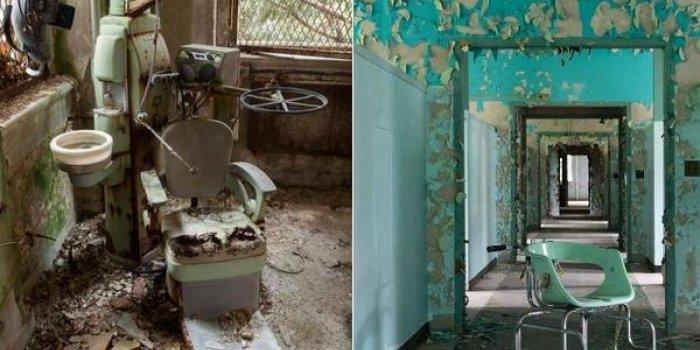 Diaporama. Visite d'asiles psychiatriques abandonnés