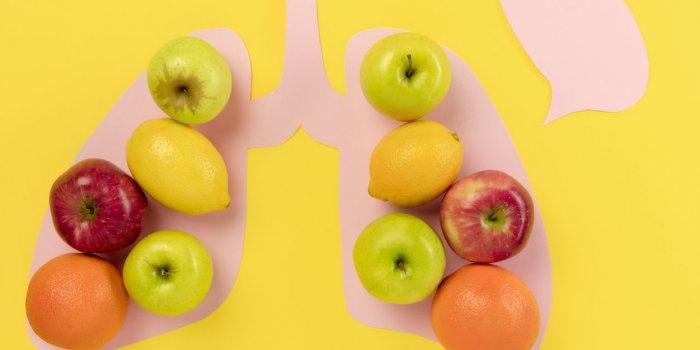 Poumons : 10 aliments qui ralentissent leur vieillissement
