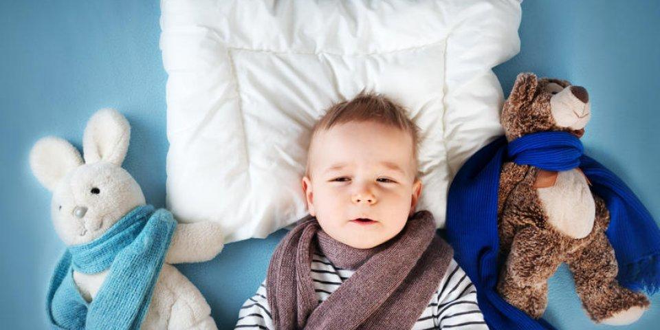 Les traitements naturels contre le rhume chez le bébé