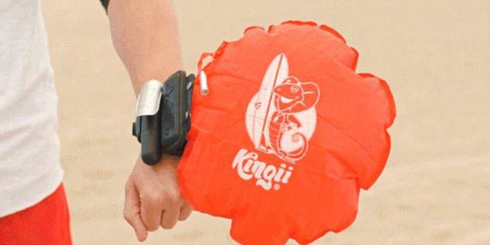 Un nouveau bracelet insolite pour vous sauver de la noyade