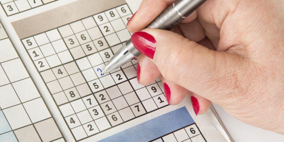 Les mots croisés et le sudoku aident le cerveau à mieux fonctionner, plus longtemps