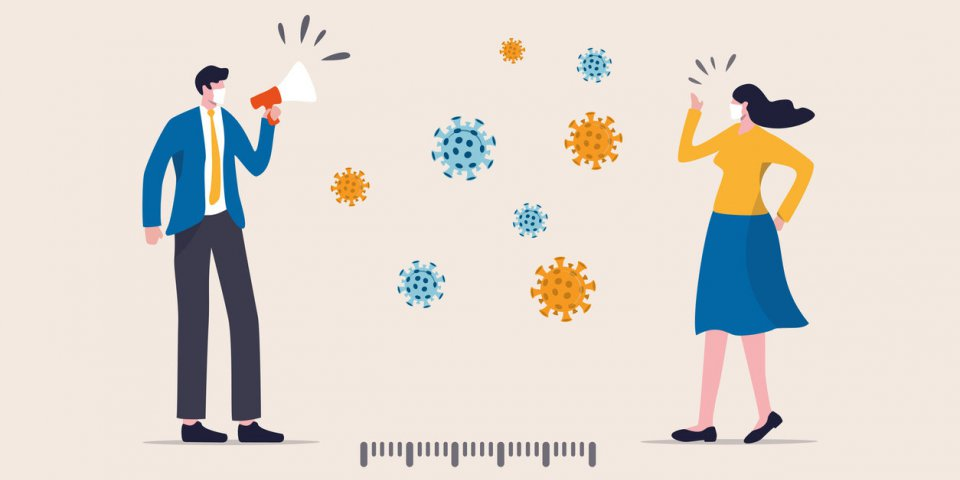 Covid-19 : prononcer ces consonnes favorise la transmission du virus