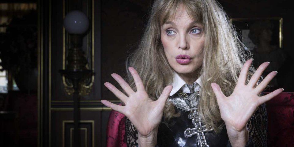 french actress and singer arielle dombasle poses in paris on october 3, 2016 (photo by joel saget afp)