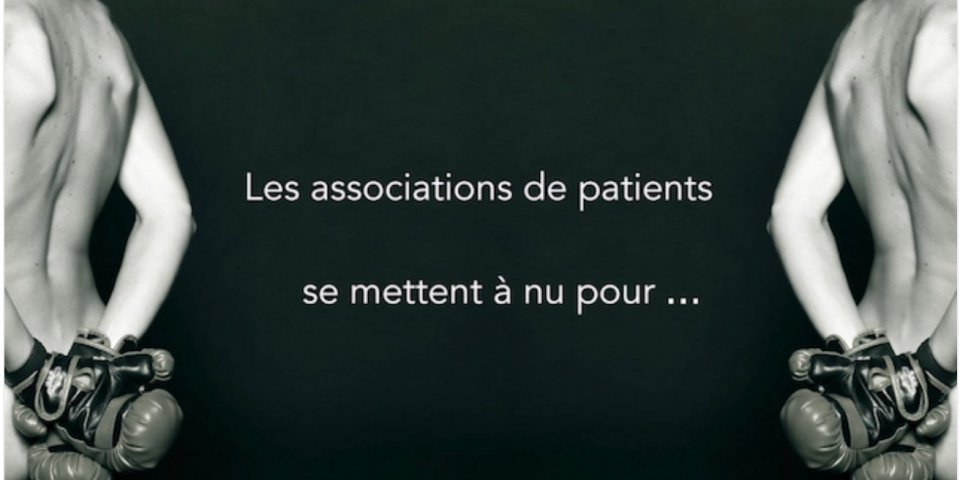 Les associations de patients se mettent à nu dans un calendrier !