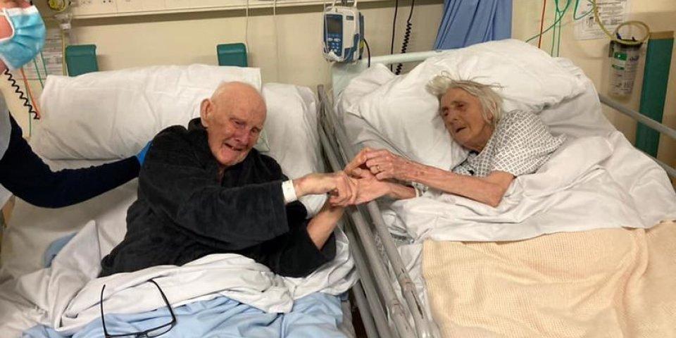 Après 70 ans de mariage, ils meurent ensemble du Covid et émeuvent la toile