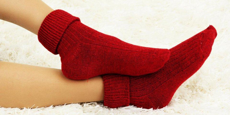Pour éviter rhume et grippe, mettez vos pieds au chaud !
