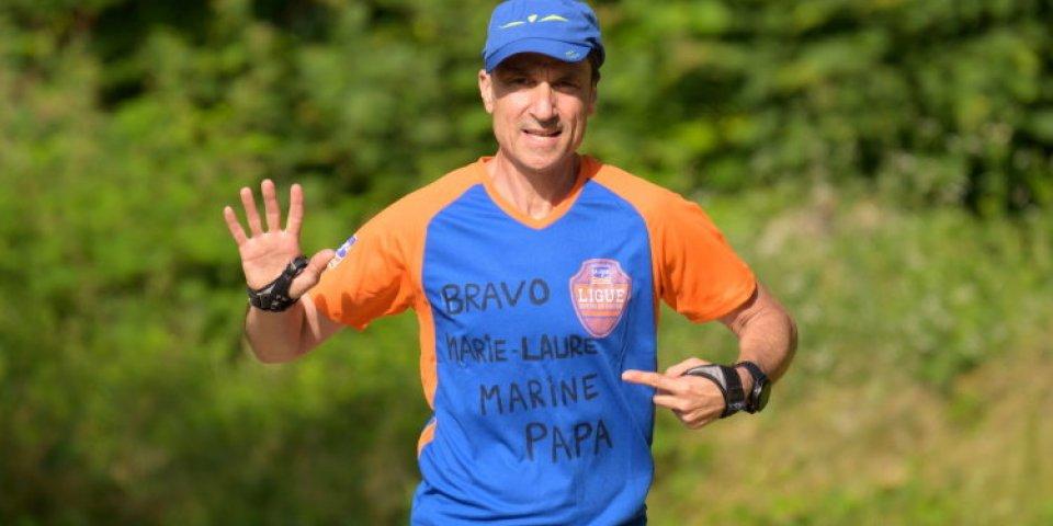 """""""J'ai parcouru 5,5 marathons d'affilée en 2 jours pour La ligue Contre le Cancer"""""""