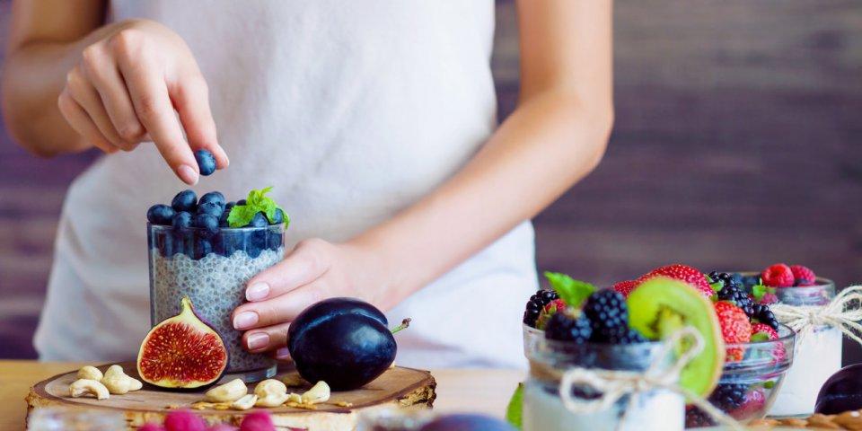 Les clés de l'alimentation anti-âge