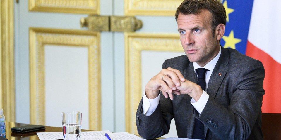 Masques nous n'avons jamais été en rupture affirme Emmanuel Macron