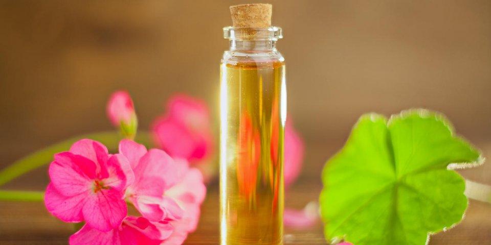 Les propriétés de l'huile essentielle de géranium rosat