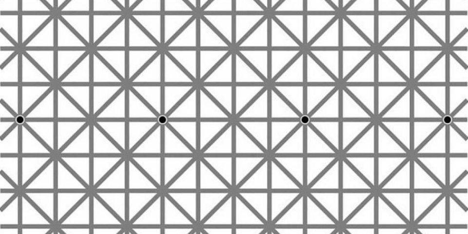 Image. Combien de points arrivez-vous à voir ?