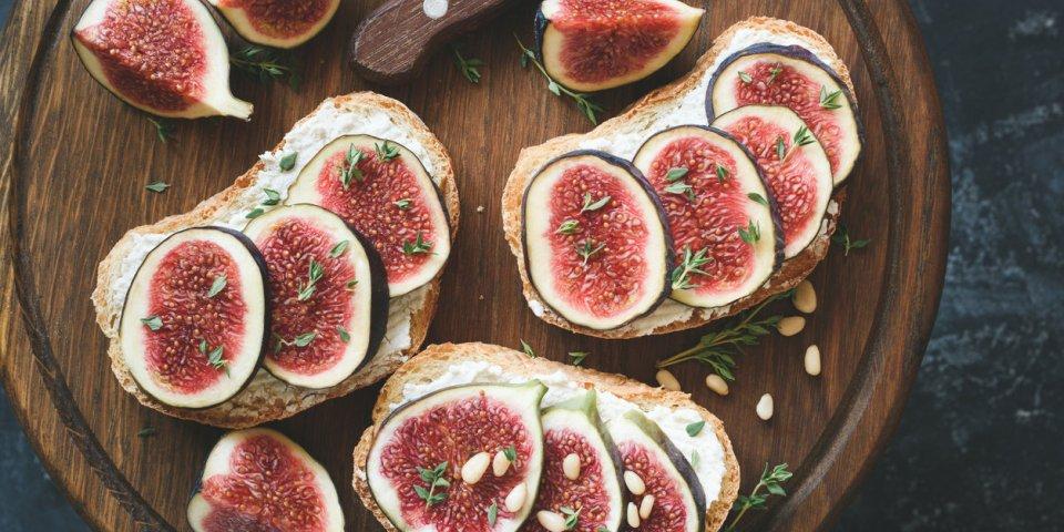 6 recettes délicieuses avec des figues
