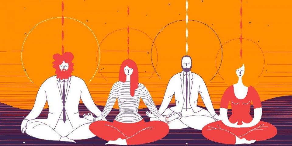 8 semaines de méditation rendent votre cerveau plus rapide