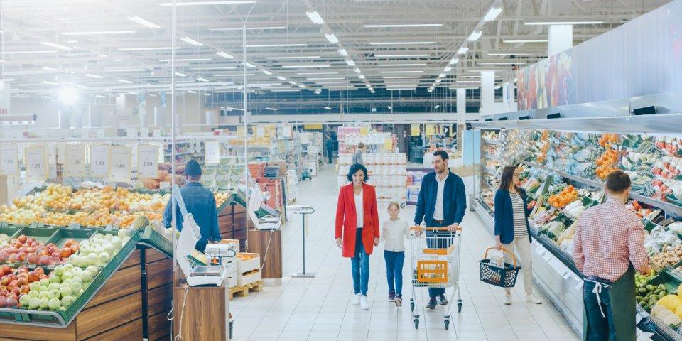Coronavirus : comment une personne peut contaminer un supermarché entier