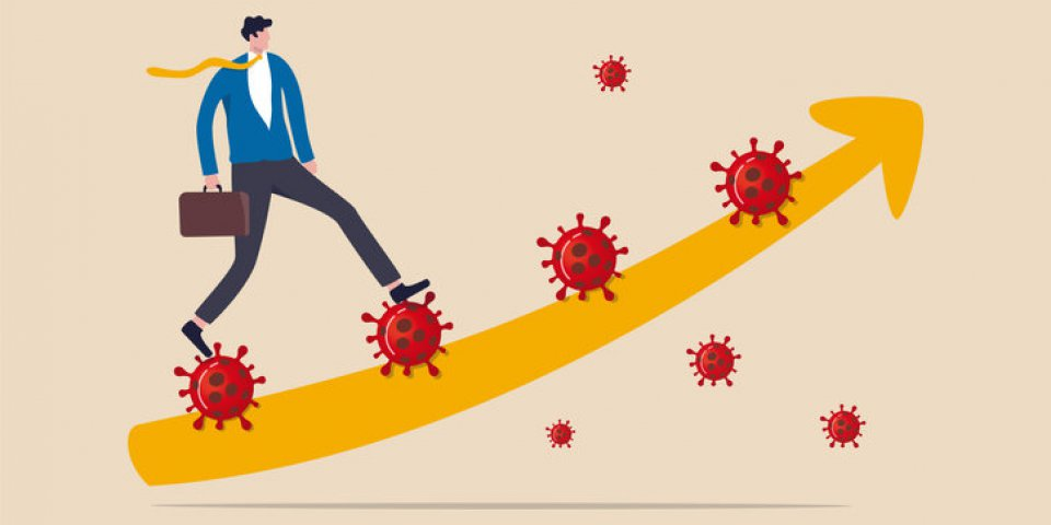 leadership to solve problem in coronavirus covid-19 crisis, walk pass and survive in economic crisis in covid-19 outbreak...