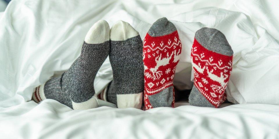 Dormir avec les chaussettes : la fausse bonne idée